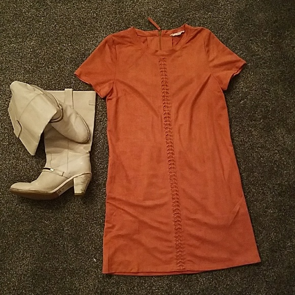 Rustic Orange Loverich Dress